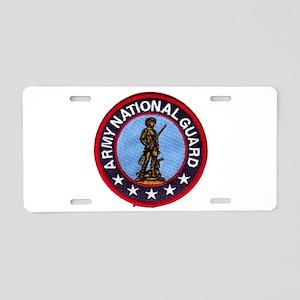 Army National Guard Collectio Aluminum License Pla