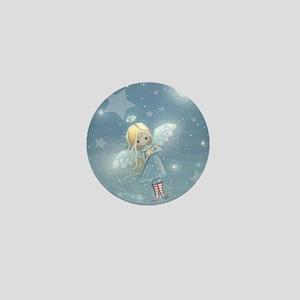 Star Angel Mini Button