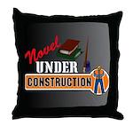Novel Under Construction Throw Pillow