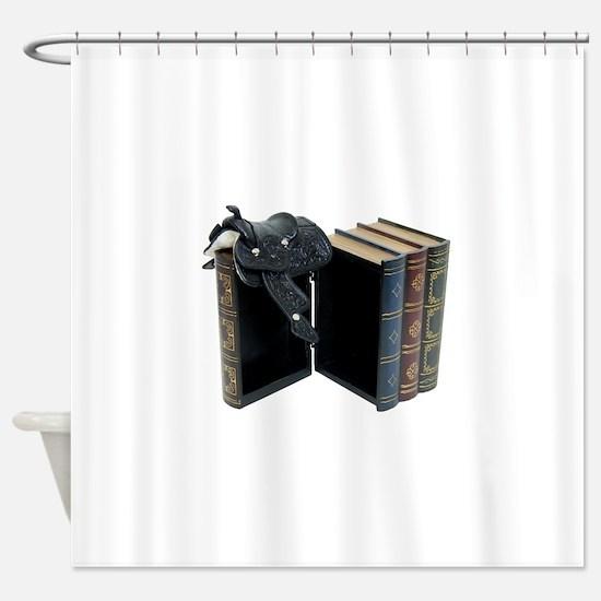 InfoStraightFromHorse030209 copy.pn Shower Curtain