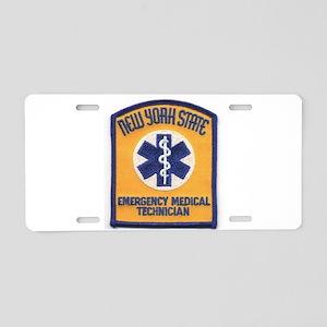 NYS EMT Aluminum License Plate