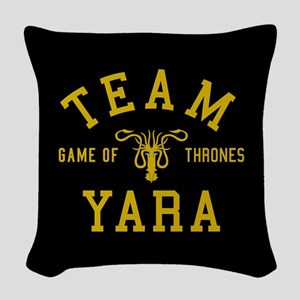 GOT Team Yara Woven Throw Pillow