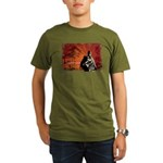Organic Men's Toyotomi Hideyoshi T-Shirt (dark)