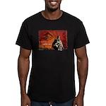 Men's Fitted Toyotomi Hideyoshi T-Shirt (dark)
