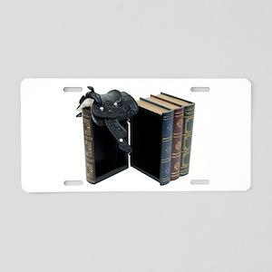InfoStraightFromHorse030209 Aluminum License Plate