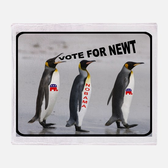 NEWT FOR US Throw Blanket