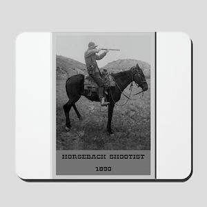 Horseback Shootist Mousepad