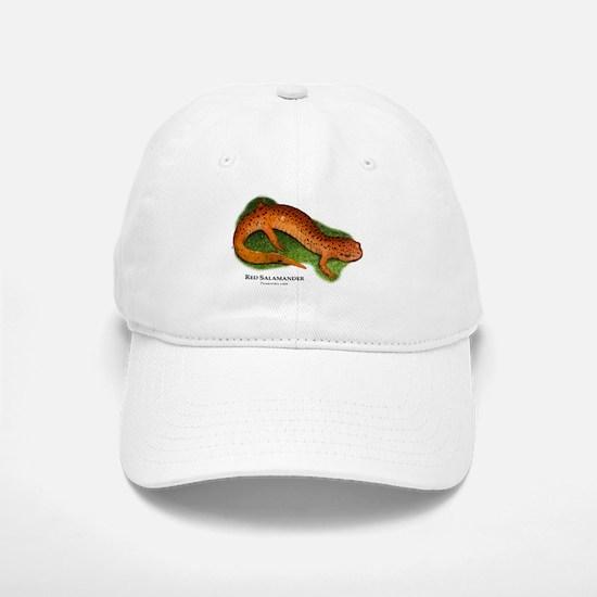 Red Salamander Baseball Baseball Cap