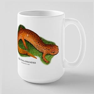 Red Salamander Large Mug