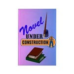 Novel Under Construction Rectangle Magnet