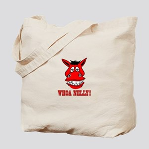 Horse Says Whoa Nelly Tote Bag