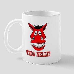 Horse Says Whoa Nelly Mug