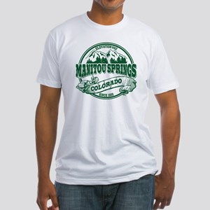 Manitou Springs Old Circle Fitted T-Shirt