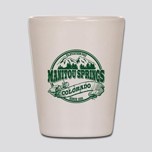 Manitou Springs Old Circle Shot Glass