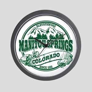 Manitou Springs Old Circle Wall Clock