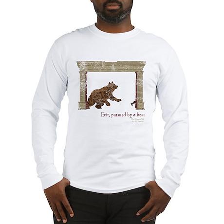 Winter's Tale Shakesbear Long Sleeve T-Shirt