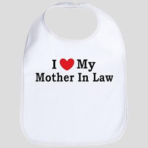 I love my Mother In Law Bib