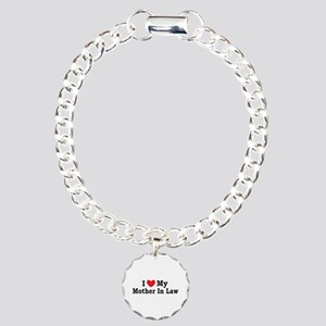 I love my Mother In Law Charm Bracelet, One Charm