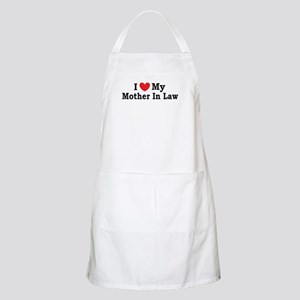 I love my Mother In Law Apron