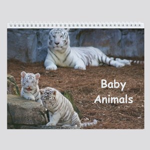 Wall Calendar-Baby Animals