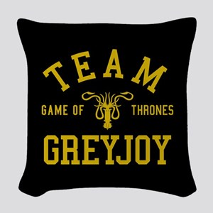 GOT Team Greyjoy Woven Throw Pillow
