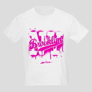 Brooklyn NY Graffiti Spray Kids Light T-Shirt