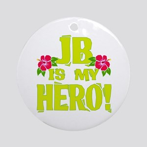 Beach Bum Hero Ornament (Round)