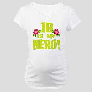 Beach Bum Hero Maternity T-Shirt