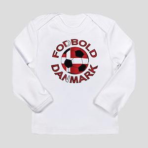 Danmark Denmark Football Fodb Long Sleeve Infant T