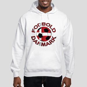 Danmark Denmark Football Fodb Hooded Sweatshirt
