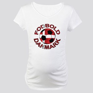 Danmark Denmark Football Fodb Maternity T-Shirt
