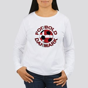 Danmark Denmark Football Fodb Women's Long Sleeve