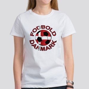 Danmark Denmark Football Fodb Women's T-Shirt