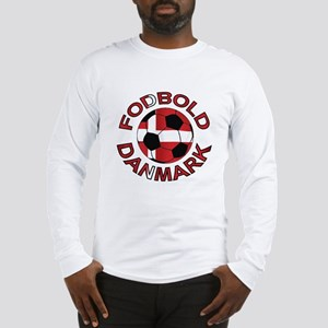 Danmark Denmark Football Fodb Long Sleeve T-Shirt