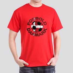 Danmark Denmark Football Fodb Dark T-Shirt