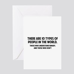 10 types people home greeting cards cafepress 10 types of people greeting card m4hsunfo