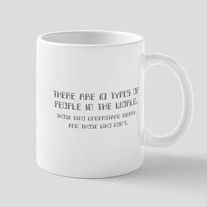 10 types of people Mug
