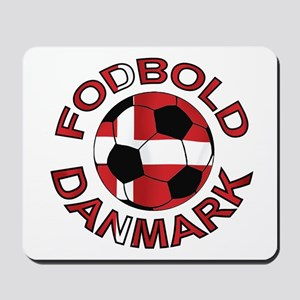 Danmark Denmark Football Fodb Mousepad