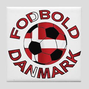 Danmark Denmark Football Fodb Tile Coaster