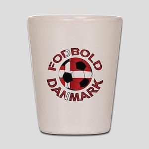 Danmark Denmark Football Fodb Shot Glass