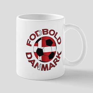 Danmark Denmark Football Fodb Mug