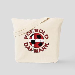 Danmark Denmark Football Fodb Tote Bag
