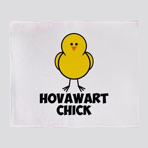 Hovawart Chick Throw Blanket