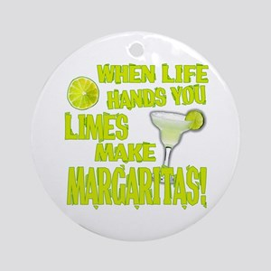 Living Margaritas Ornament (Round)