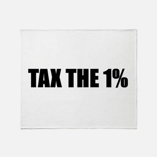 Tax1Percent Throw Blanket