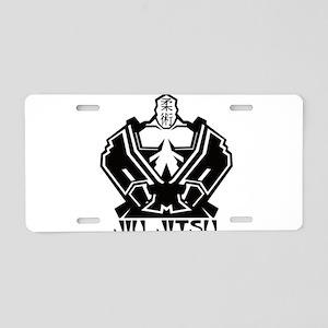 12-4 Aluminum License Plate