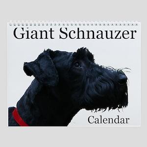 Giant Schnauzer Wall Calendar