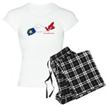 Acadian Flag Nova Scotia Women's Light Pajamas