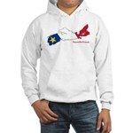 Acadian Flag Nova Scotia Hooded Sweatshirt