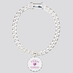 Team Edward Charm Bracelet, One Charm